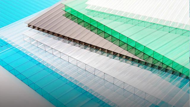百特威分享较为常见的PC阳光板的颜色种类!