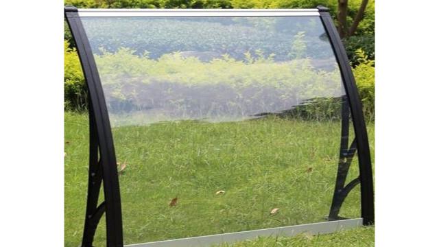 雨棚用耐力板好还是阳光板好?